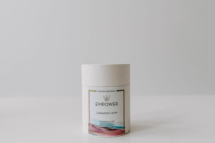 Winton + Waits Empower Candle