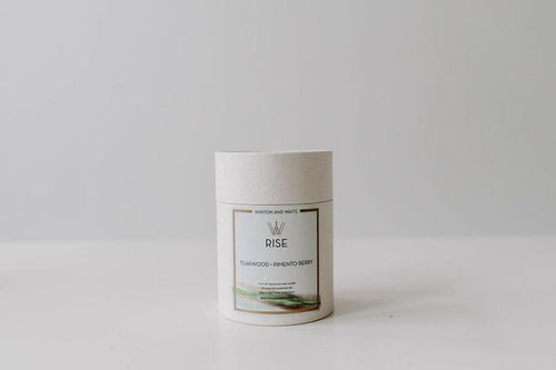 Winton + Waits Rise Candle