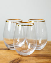 Load image into Gallery viewer, Touch of Class Stemless Wine Glasses