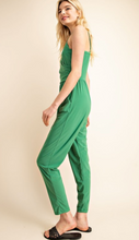 Load image into Gallery viewer, Green With Envy Jumpsuit