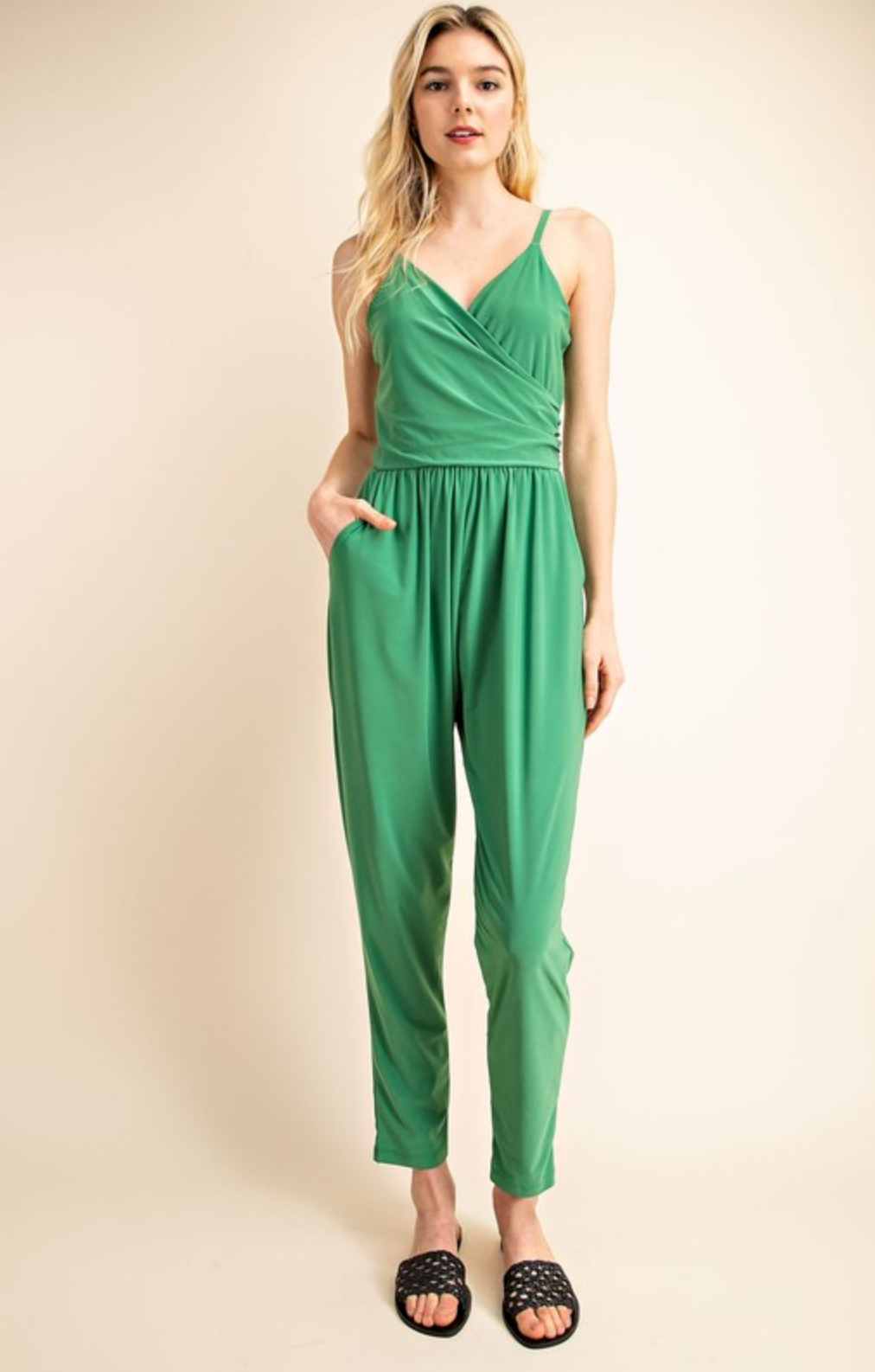 Green With Envy Jumpsuit