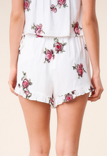 Load image into Gallery viewer, Carnation Crush Floral Wrap Skort