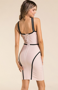 Read Between The Lines Contour Dress
