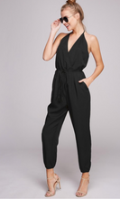Load image into Gallery viewer, Noir Halter Jumpsuit