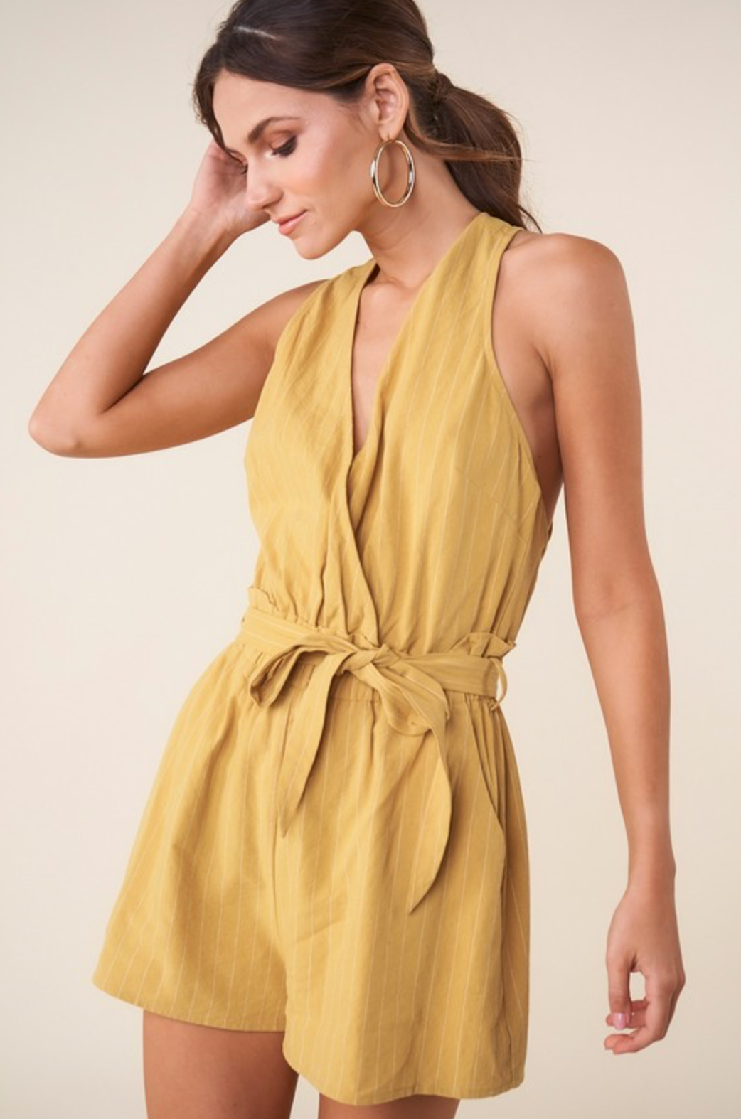 Hey Honey Stripe Romper