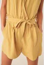 Load image into Gallery viewer, Hey Honey Stripe Romper