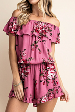 Load image into Gallery viewer, Rose Garden Romper