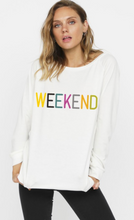 Load image into Gallery viewer, La Weekend Graphic Sweatshirt