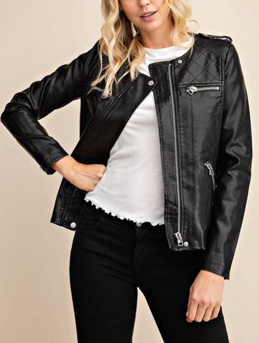 Not Your Boyfriends Leather Jacket
