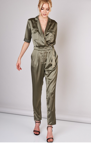 Olive You So Much Jumpsuit