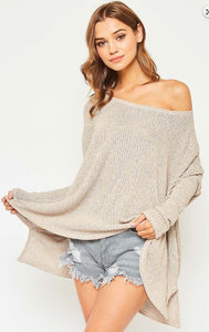 Kaitlyn Low Guage Sweater