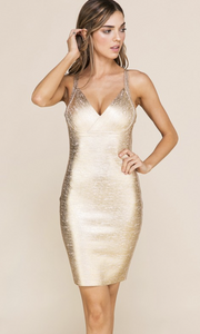 Saints Bandage Dress