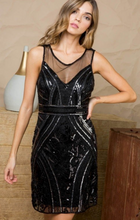 Load image into Gallery viewer, Gatsby Sequin Dress