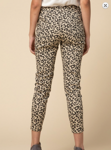 CAT WALK LEOPARD PANTS