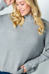 Heather Sweater