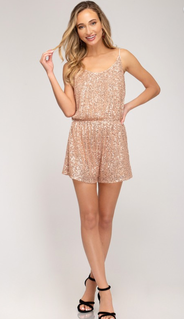 Sequin Dream Romper