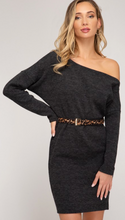 Load image into Gallery viewer, Get Wild Knit Dress