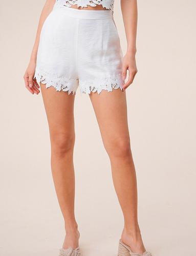 Laced Up Shorts