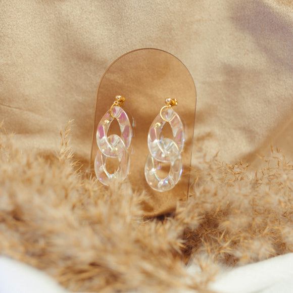 Opalescent Dangle Earrings