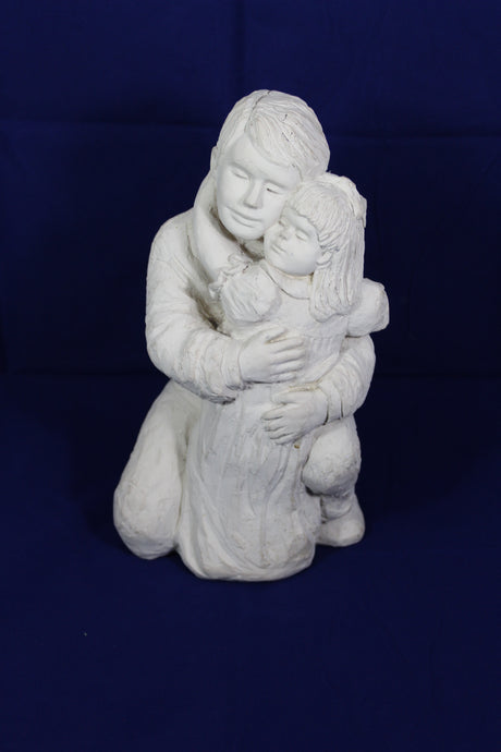 Father-Daughter Sculpture