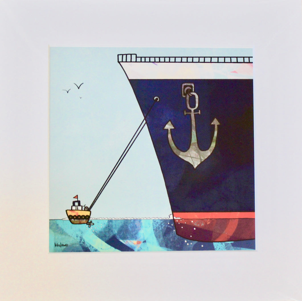 Tugboat- Unframed Print