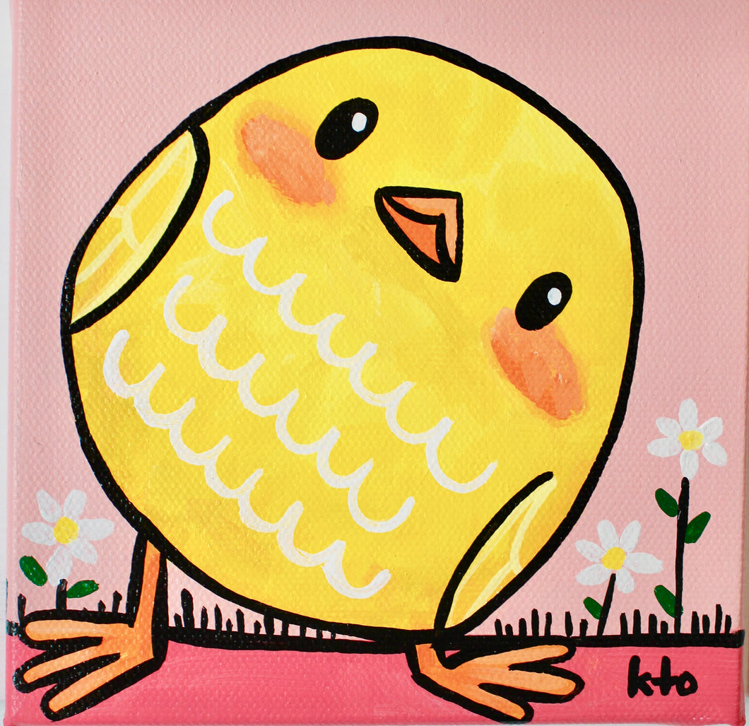 Yellow Chick- Original