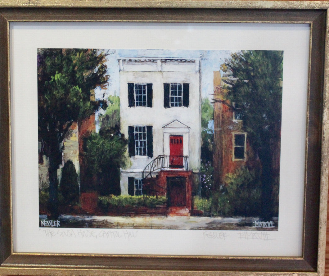 John Phillip Sousa's Home- Framed Print