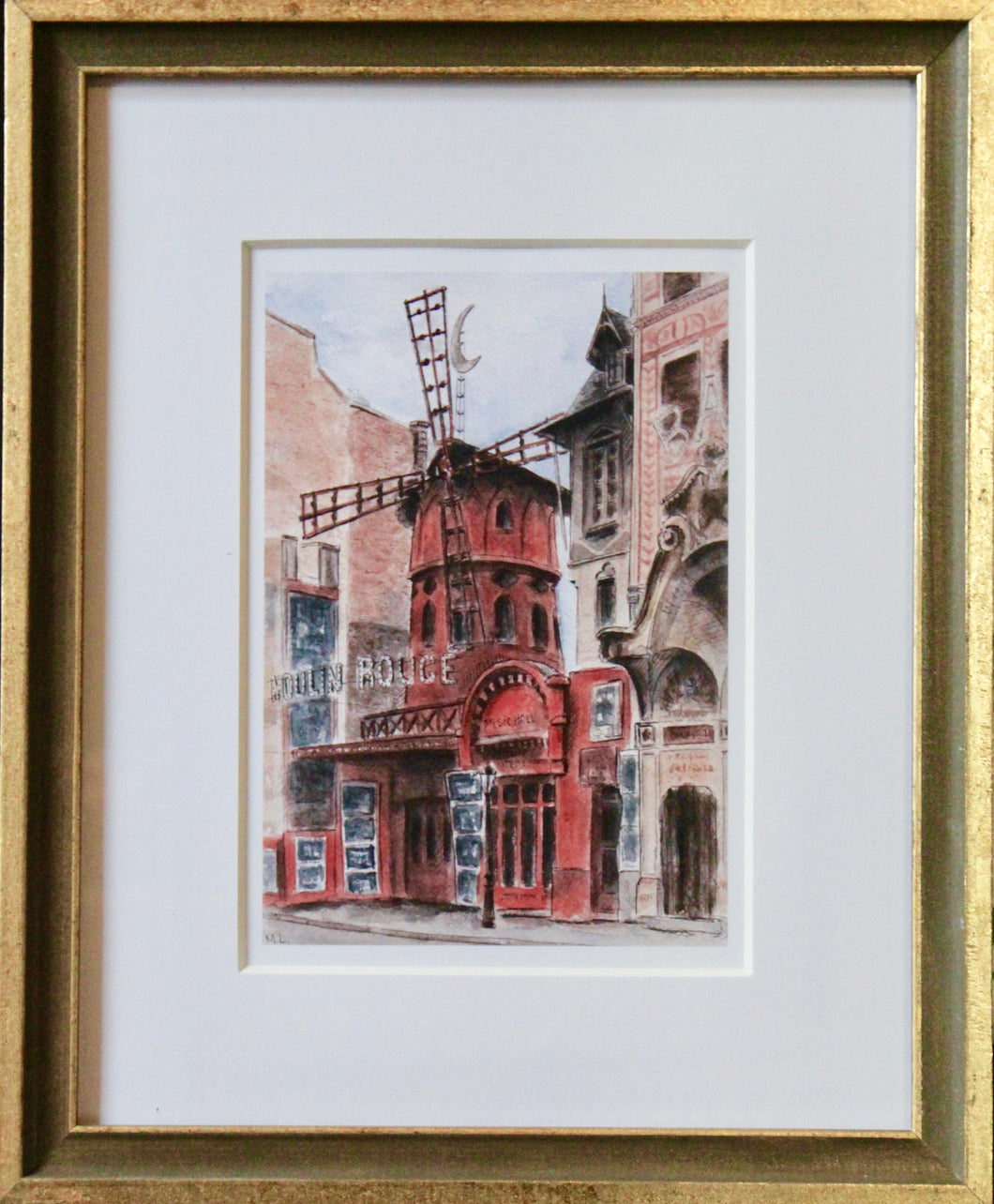 Moulin Rouge- Framed Print