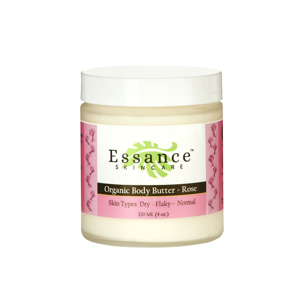 ORGANIC BODY BUTTER - ROSE - Small (4 oz.)