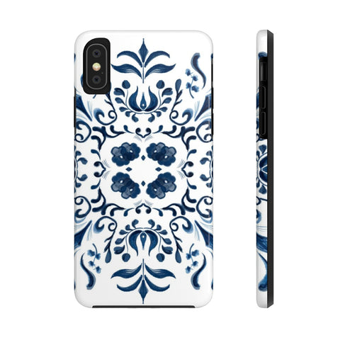 Blue Tile Case Mate Tough Phone Cases