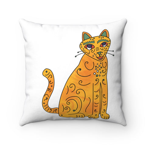 Groovy Kitties Accent Pillow