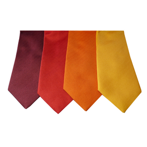 Bordeaux Red Natté Silk Tie | Blick