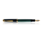 Pelikan FP |  Souverän Green/Black M400 14 CT