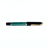Pelikan FP |  Souverän Green/Black M300 14 CT
