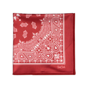 Salvatore Red Pocket Square