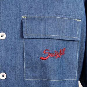Denim Race Shirt - Angouleme | Suixtil