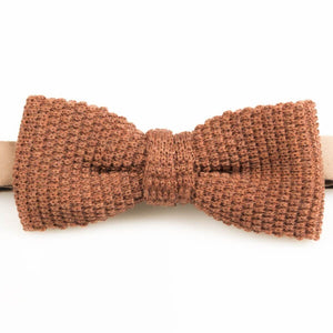 Orange Knitted Wool Bowtie | Blick
