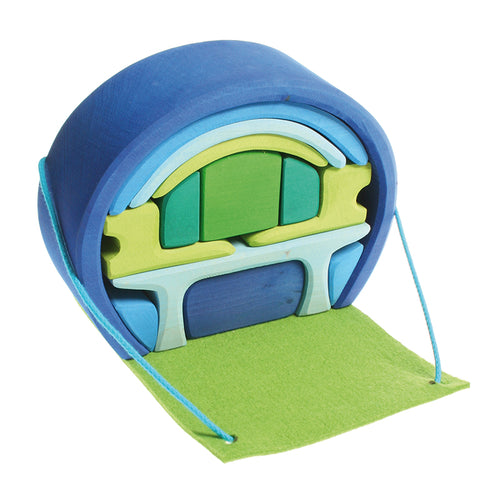 GRIMM'S Mobile Home, Blue-Green
