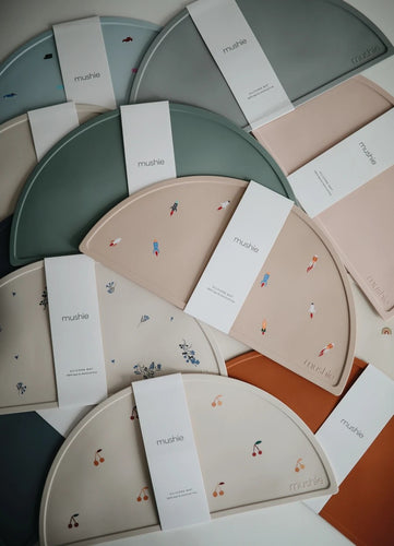 Silicone Place Mats - Solid Colours