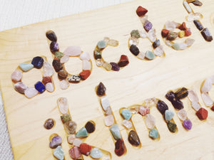 SALT & MOONSTONES x NOAH'S TOYS Alphabets with Crystals Bundle