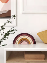 Load image into Gallery viewer, Wooden Rainbow, Marsala