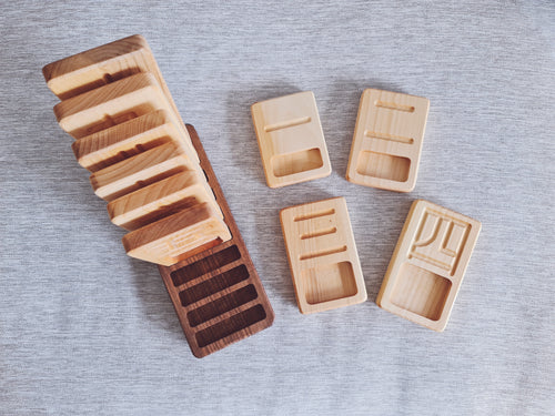 Chinese Counting Trays, Ascending (Noah's Toys Exclusive)