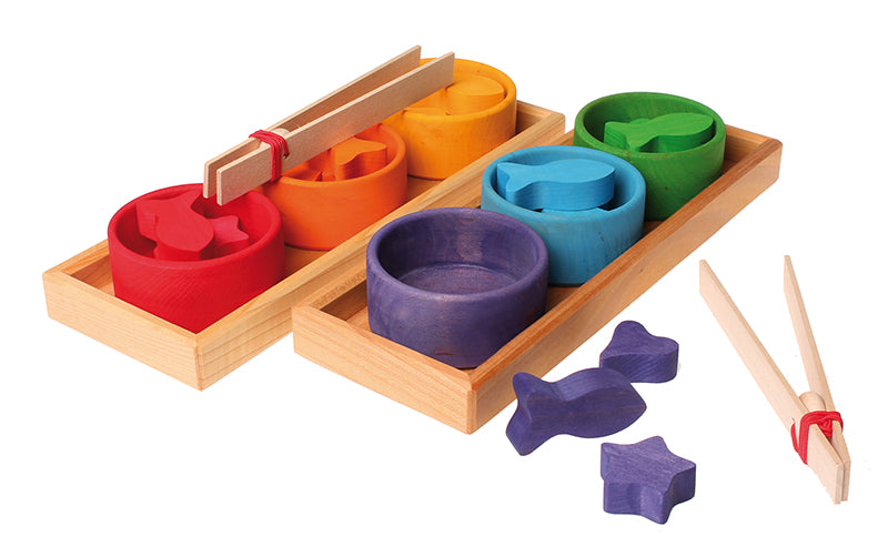 GRIMM'S Sorting Game Rainbow Bowls