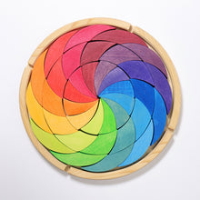 Load image into Gallery viewer, GRIMM'S Building Set Colourwheel, Rainbow