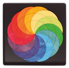 Load image into Gallery viewer, GRIMM'S Magnet Puzzle Rainbow Wheel