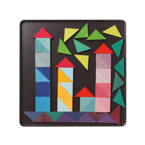 GRIMM'S Magnet Puzzle Triangles