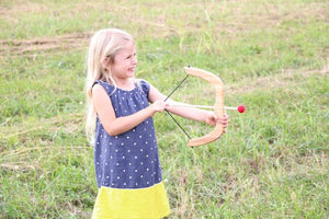 TREASURES FROM JENNIFER Small Bow and Arrows