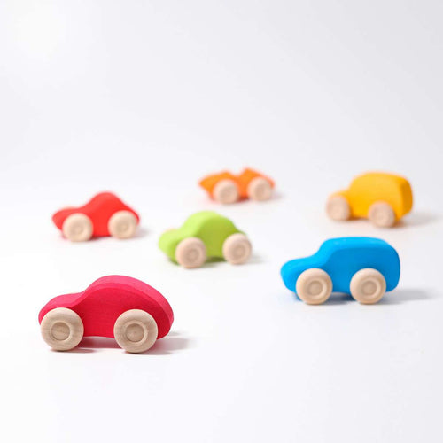 GRIMM'S Coloured Wooden Cars