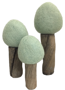 PAPOOSE TOYS Earth Summer Trees Set of 3