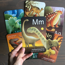 Load image into Gallery viewer, TINY WORLDS Dinosaurs A to Z Cards